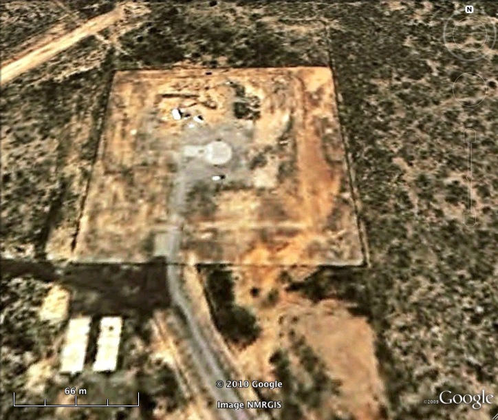 Atlas F 579-3 Missile Silo Walker AFB New Mexico