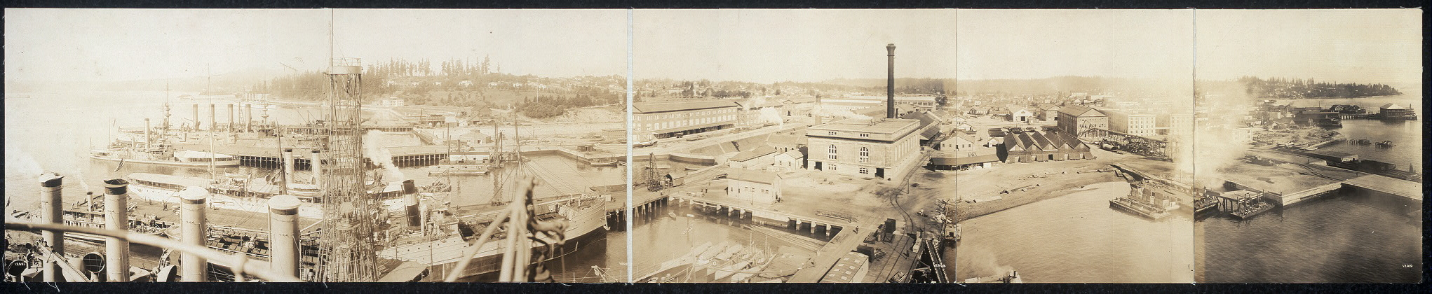 Bremerton Navy Yard views circa 1913