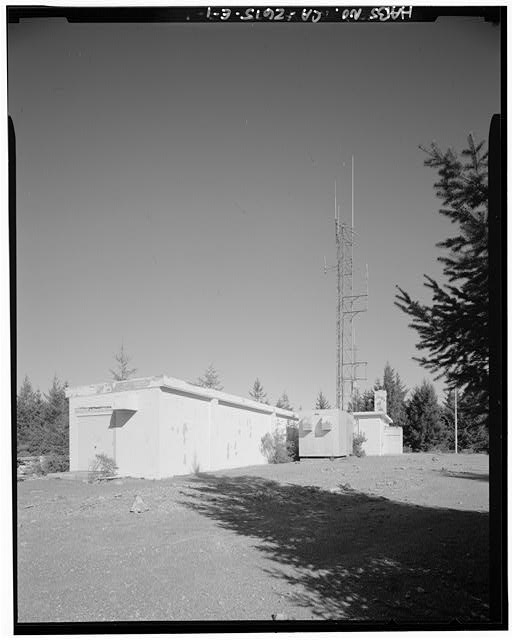 Mill Valley Early Warning Radar EXTERIOR VIEW OF THE BOWLING ALLEY, BUILDING 106, LOOKING NORTH.