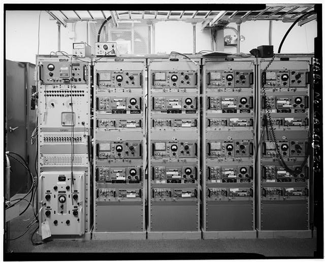 Mill Valley Early Warning Radar Station AIR TO GROUND RADAR TYPE GT2122 & GRRR 2324, CIRCA 1978, INTERIOR OF BUILDING 408, LOOKING WEST.